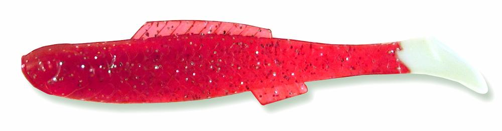 162 Strawberry Silver Flake/White Tail (8/pk)