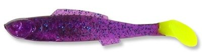 045 Egret Bayou Chub Minnow Purple/Chart Tail 3.5 inch  (8/pk)
