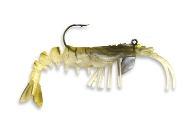 08 Vudu Shrimp Gold 4 inch 1/4 oz (2pk)