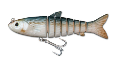 118 Vudu Mullet Pin Fish 4.5 inch 1/2 oz (1/pk)