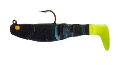 15 Vudu Mambo Mullet Black Magic/Chart Tail 3.5 inch 1/4 oz (2pk)