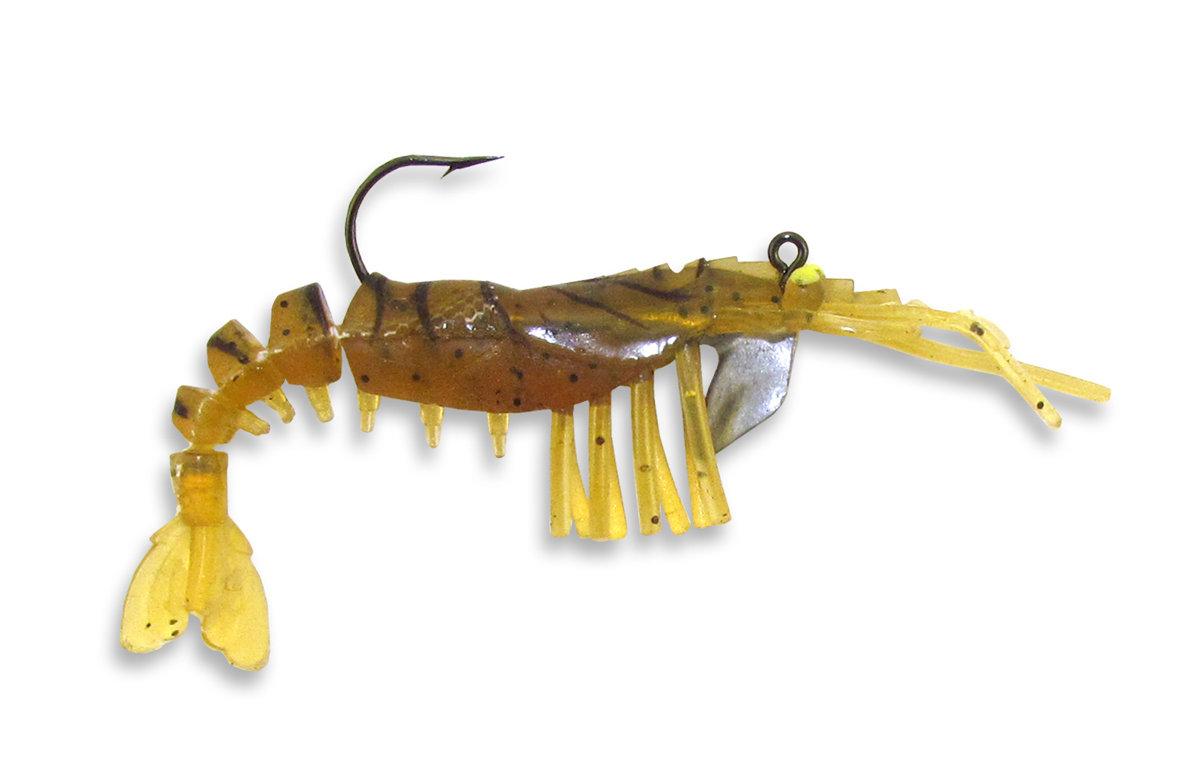 07 Vudu Shrimp Rootbeer 4 inch 1/4 oz (2pk)