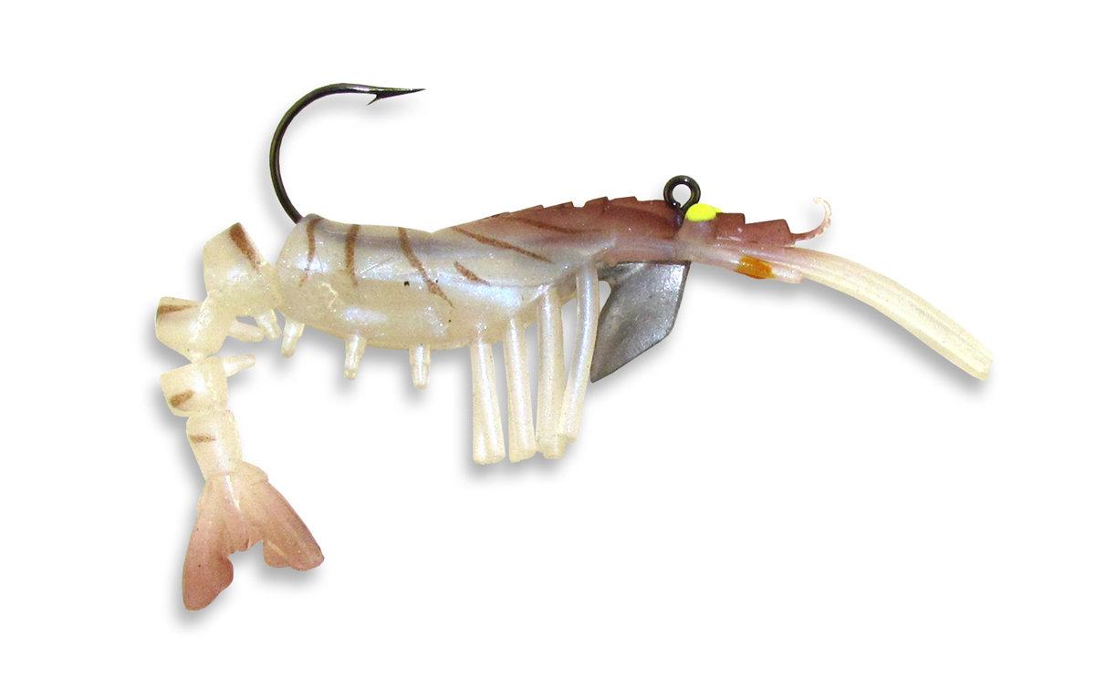 04 Vudu Shrimp Natural 2 inch 1/16 oz (2pk)