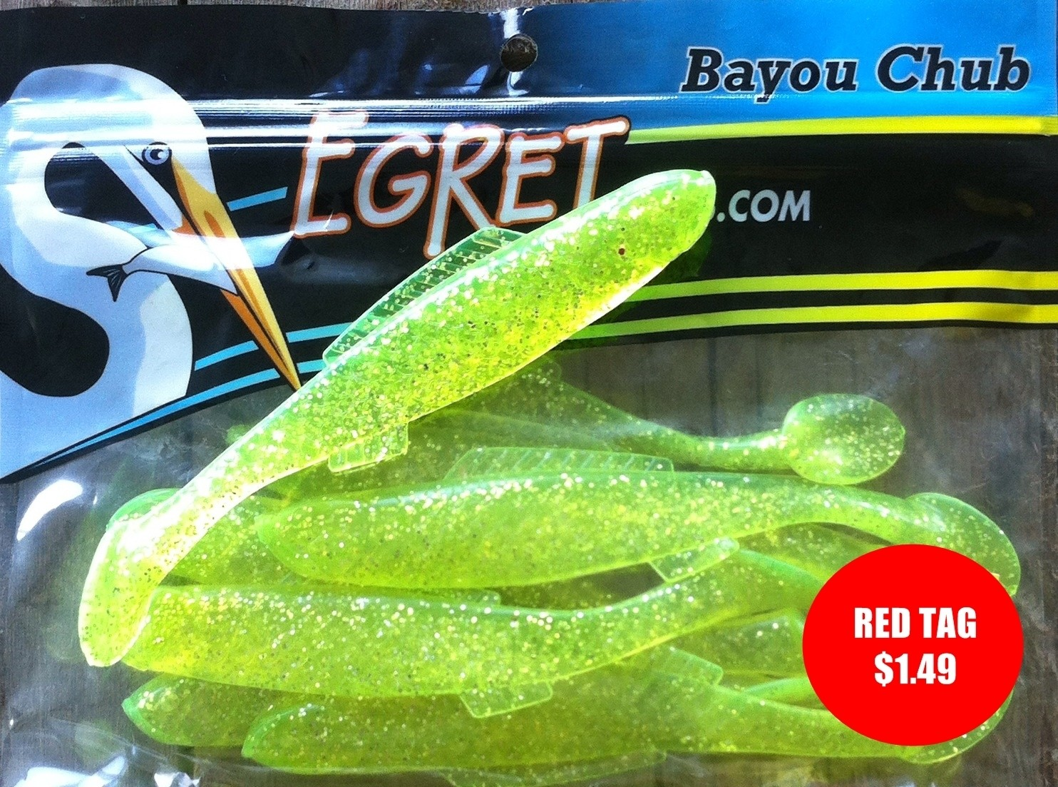 101 Chartreuse Flake (8pk)