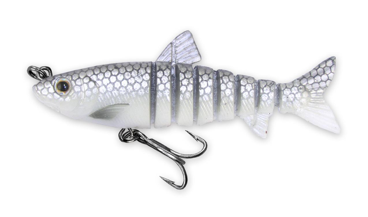 200 Vudu Freshwater Shad Silver Shad 3.5 inch 1/4 oz (1/pk) DISCONTINUED