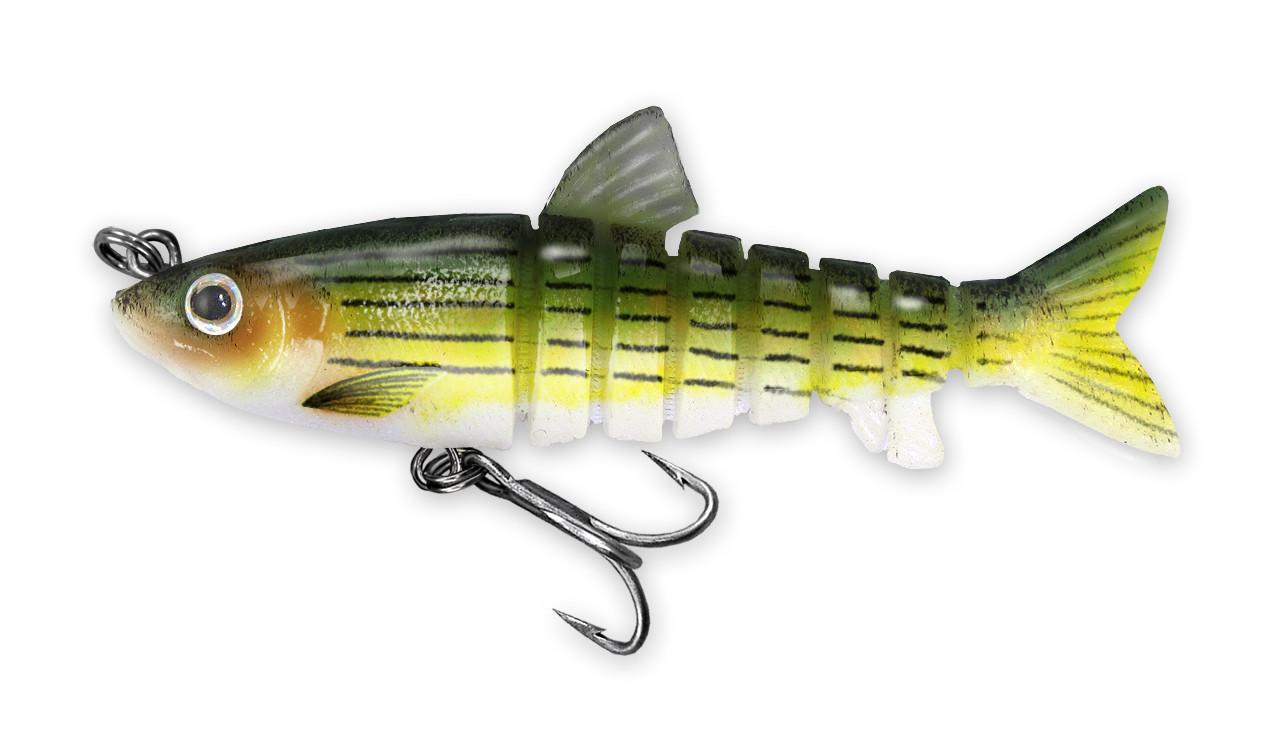 222 Vudu Freshwater Shad Barfish 3.5 inch 1/4 oz (1/pk) DISCONTINUED