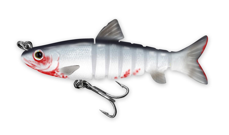 218 Vudu Freshwater Shad Bleeding Shad 3.5 inch 1/4 oz (1/pk) DISCONTINUED
