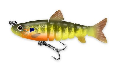 220 Vudu Freshwater Shad Perch 3.5 inch 1/4 oz (1/pk) DISCONTINUED