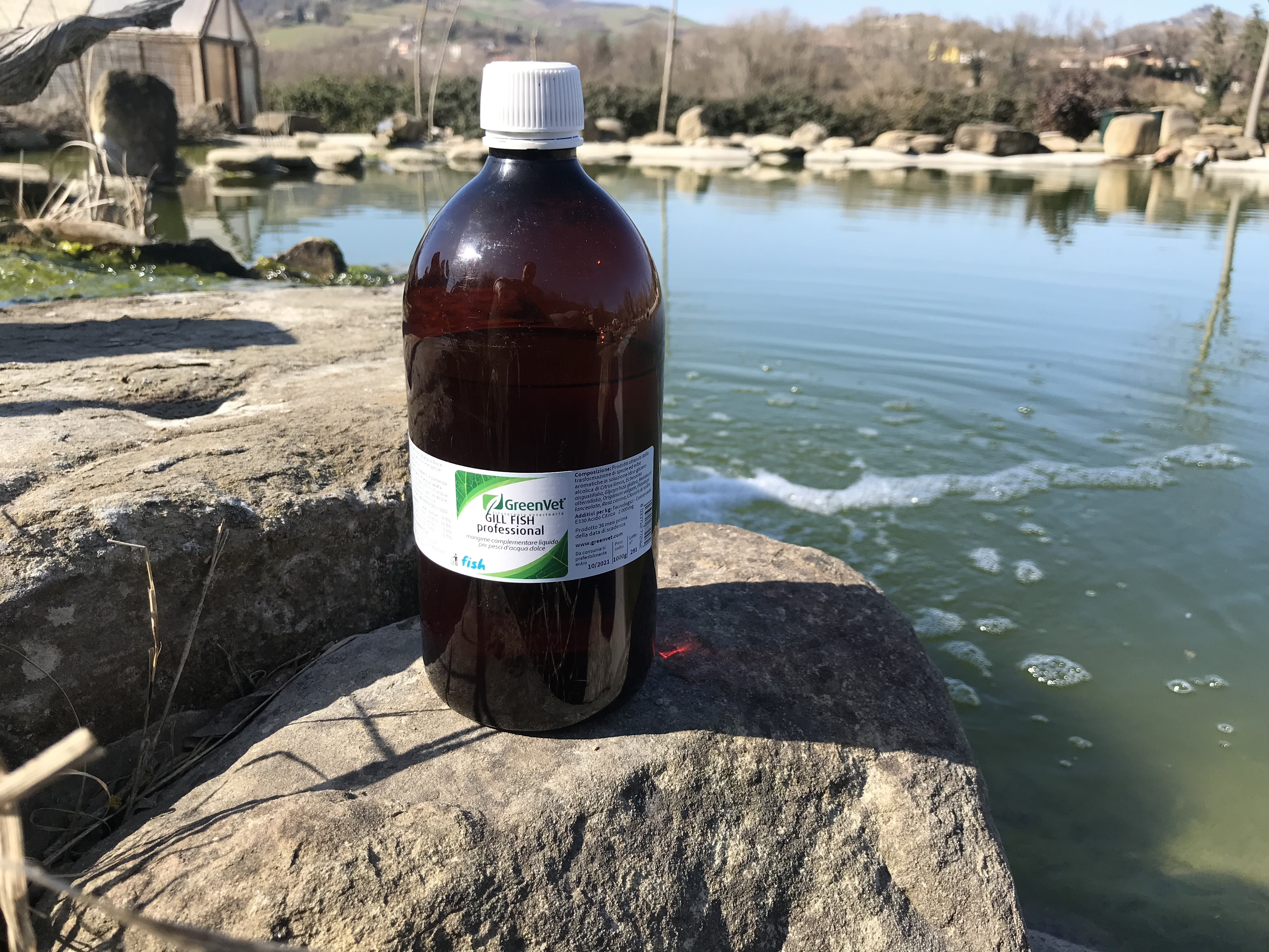 biocondizionatore GreenVet Gill Fish 1 litro 00238