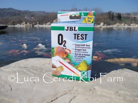 Test Ossigeno disciolto  O₂ 00086