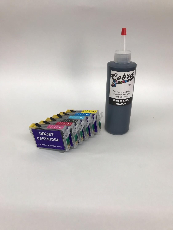 High Capacity  Code 79 Dye Base combo pack All Black