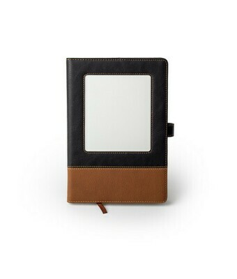 Leather sublimation notebook