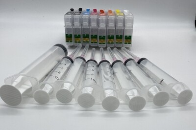 Code 324 single & sets of prefilled pigment ink cartridges