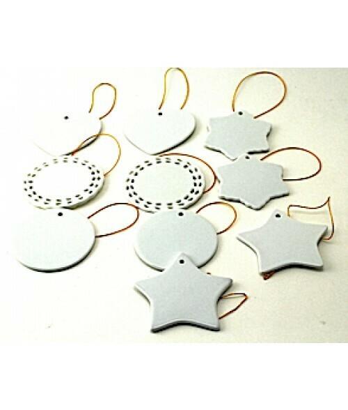 Porcelain ornament sample bundle