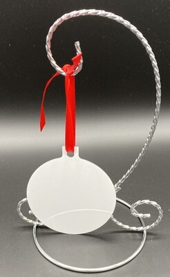 Unisub Sublimation Blank Aluminum Ornament - 3