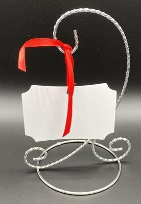 Unisub Sublimation Blank Aluminum Ornament - 2.75