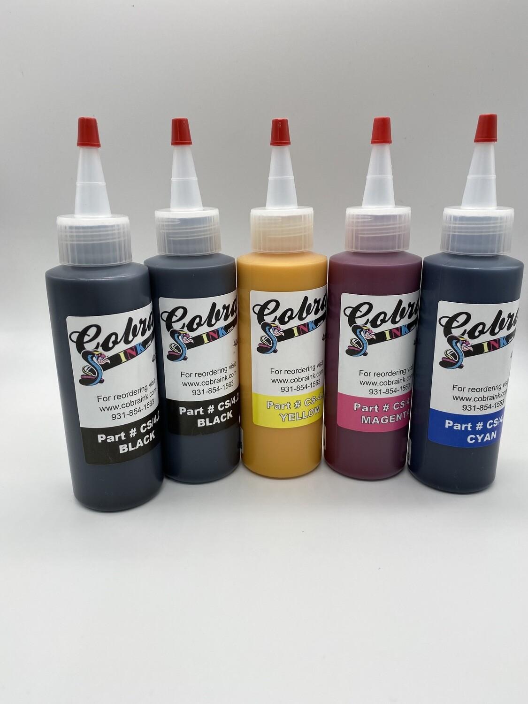 4 Color Sublimation Ink CS/4.3 5 BOTTLE SETS