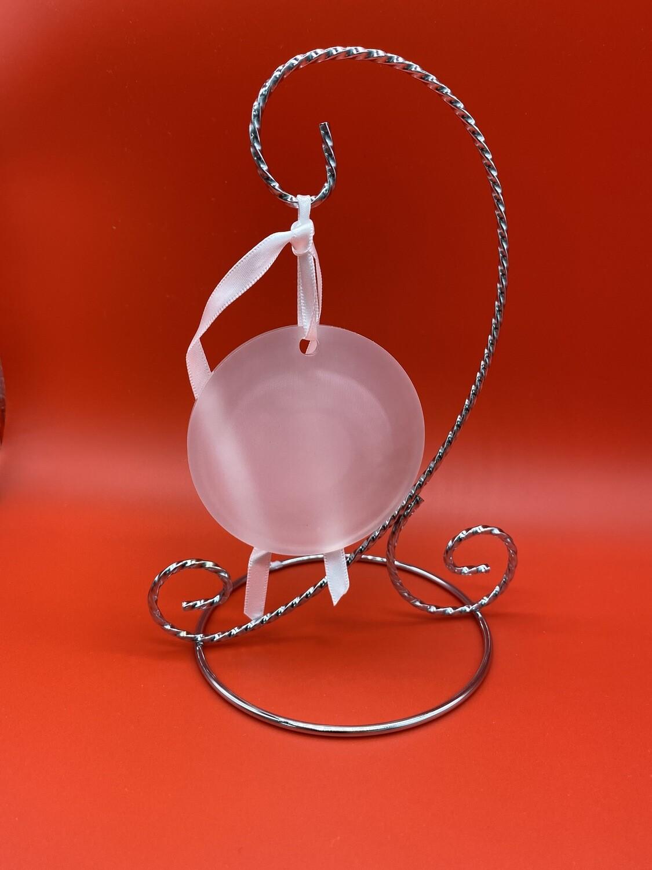 "Sublimation Blank Acrylic Ornament - 3"" - Round"