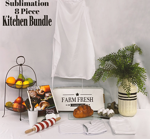 Sublimation kitchen bundle 8 piece
