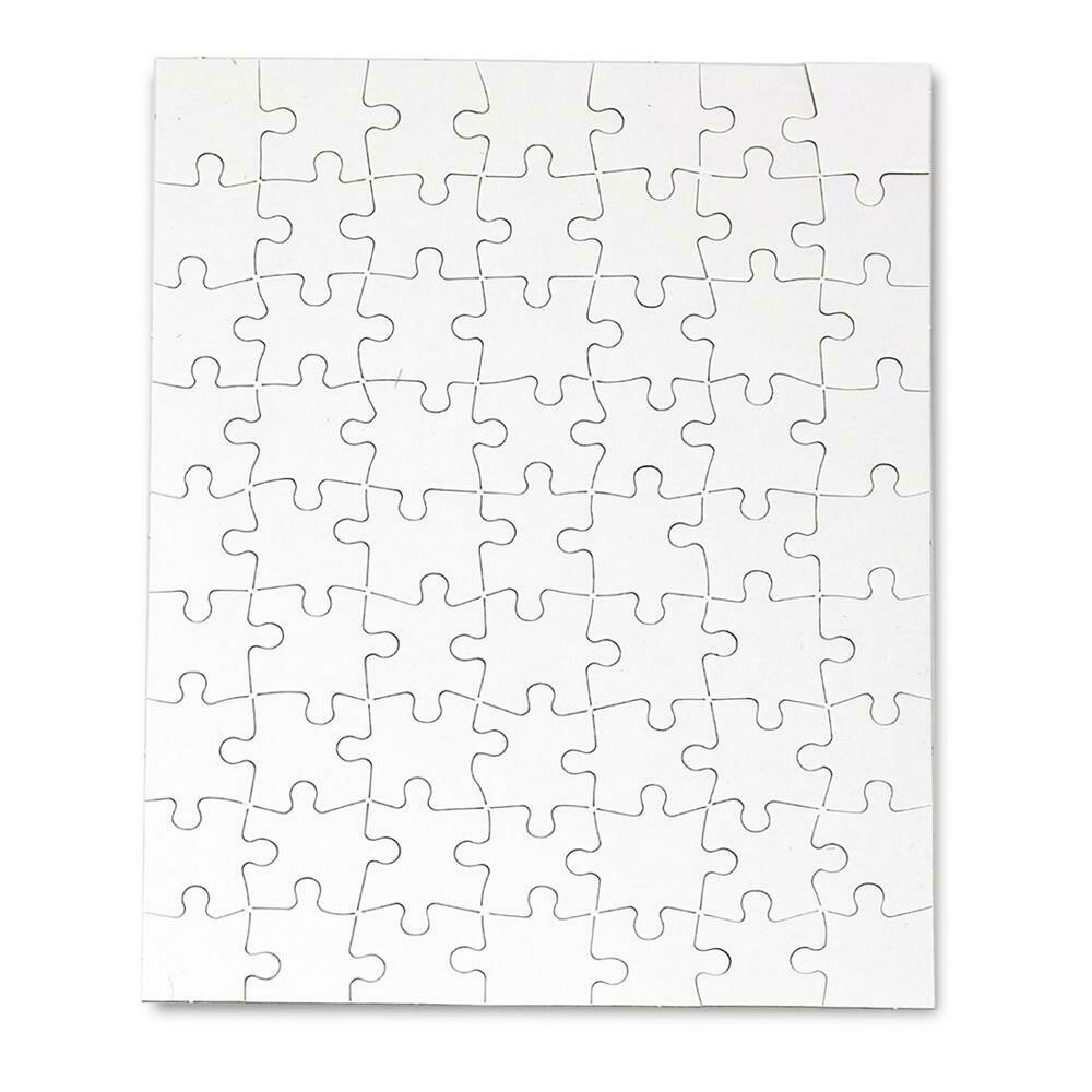 Custom Paper Sublimation Blank Printable Jigsaw Puzzle 120pcs