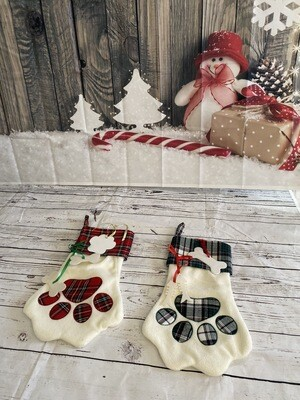 Pet stockings with sublimation blank ornaments
