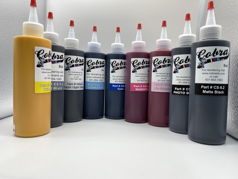Sets of 9 CS9.2 Bottled Sublimation Ink