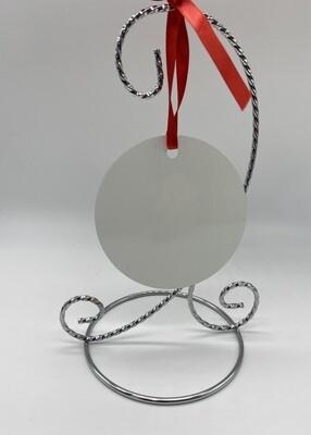 Sublimation Blank Aluminum Ornament - 3.5