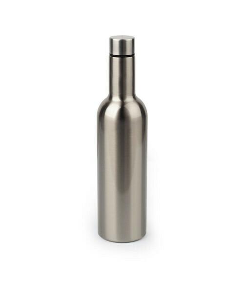 25oz  Stainless steel wine bottle