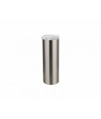 Luma Steel Sublimation Blank Stainless Steel Tumbler - 20oz - Clear Lid and Straw