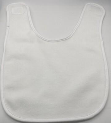 Sublimation blank Vapor baby bib