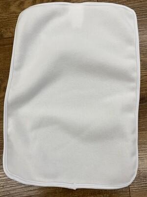 Sublimation Blank Fleece Burp Cloth  Vapor