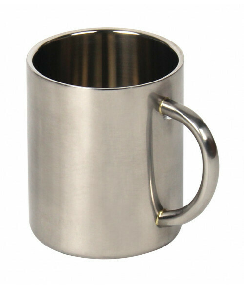 10oz Stainless steel coffee mugs