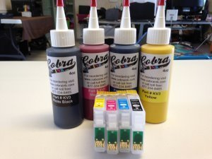 Code 200XL Sublimation combo pack New CS/4.1 ink  Fits the New Epson Desktop Printers High Capacity