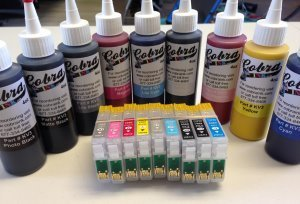 Code 157 Sublimation combo pack CS/8-9 ink