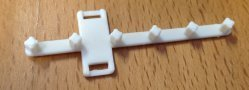 Ribbon Cable cartridge clampRibbon Cable cartridge clamps