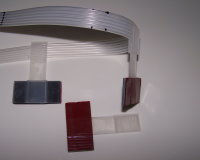 Extended Ribbon  T-Clamp with Adhesive