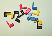Cartridge Plugs Sold in sets of 6 colors Set of 12 Cartridge Plugs Cartridge Plugs Sold in sets of 6 colors