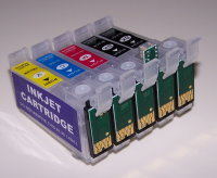 CIS Cartridges with Reset Chip Set Code 98 empty No Battery Needed