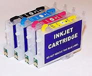Cobra Ink Code44 High Capacity 4 color Desktop Dye Base ink set