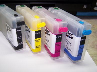 Cobra Ink Code 676XL High Capacity 4 color Desktop Dye Base ink set