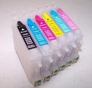 Code 48 High Capacity 6 color Desktop Dye Base ink Set