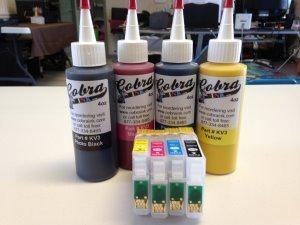 High Capacity  Code 60 Dye Base combo pack