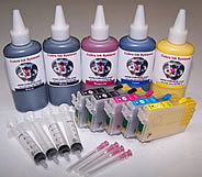 High Capacity  Code 68 Pigment Ink 2 black combo pack