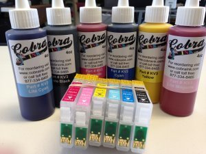 High Capacity  Code 77Pigment Ink combo pack
