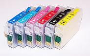 Code 77 High Capacity 6 color Empty Refillable singles