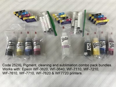 Code 252xl Combo pack Bundle