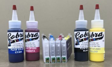 Code 60 Sublimation combo pack CS4.3 ink