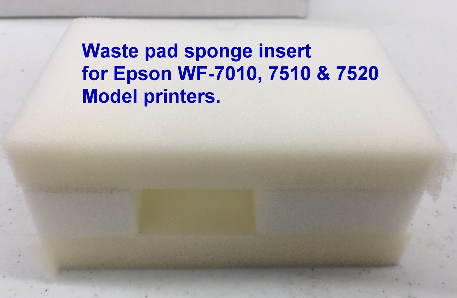 Waste pad 7010/7510 & 7520 replacements insert sponge