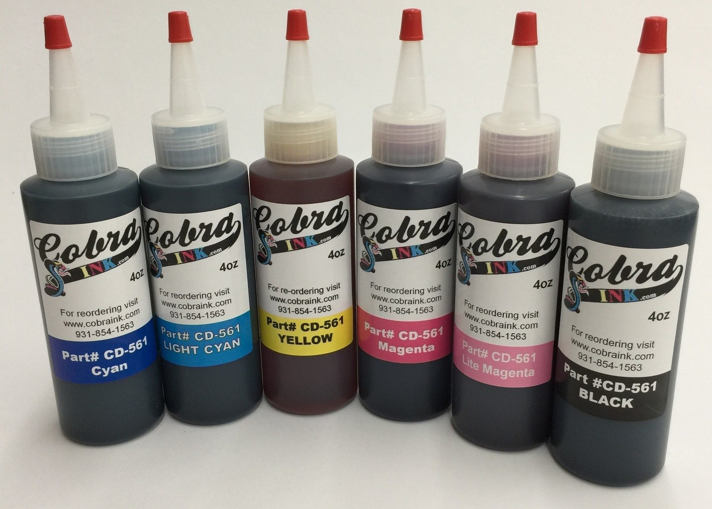 Dye Based Sets of all 6 Color bottles CD-561