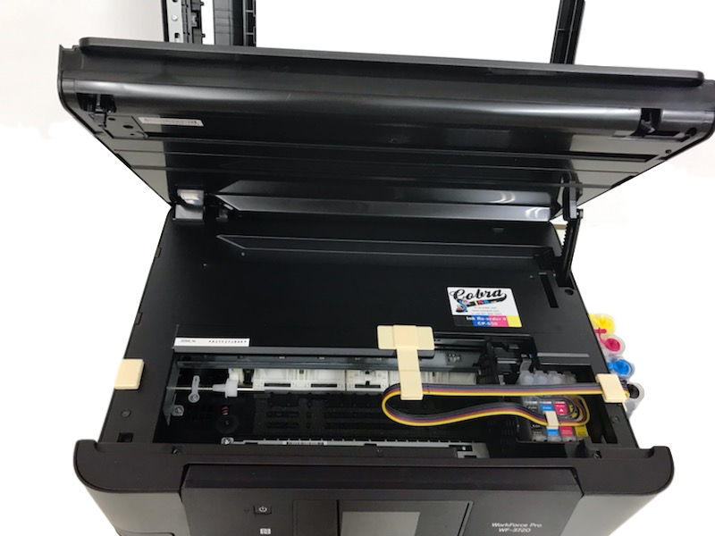 Epson WF3720  with CIS installed